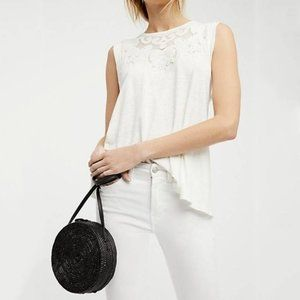 Free People Meant to Be Tee | Ivory | Sz Small